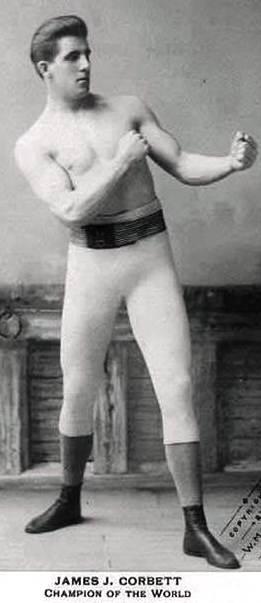Джеймс Корбетт - актер и боксёр